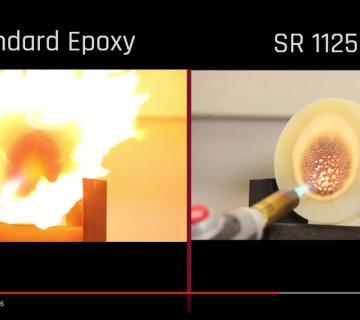 Feuerhemmendes & selbstverlöschendes Epoxy Infusionsharz SR1125 mit Zertifizierung
