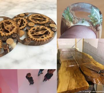 Kunst mit Epoxidharz – Tische, Ringe & mehr mit Gießharz kreativ gestalten