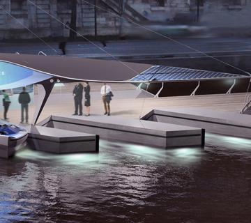 SeaBubbles Wasser-Taxis: umweltverträgliche Epoxidharze mit Marine-Zertifizierung GL & DNV