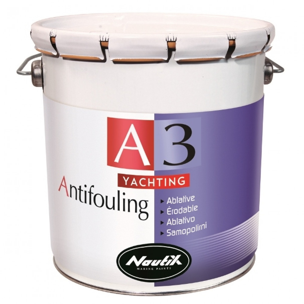 NAUTIX A3 Yachting, 2,5L; Selbstpolierendes Antifouling Schwarz