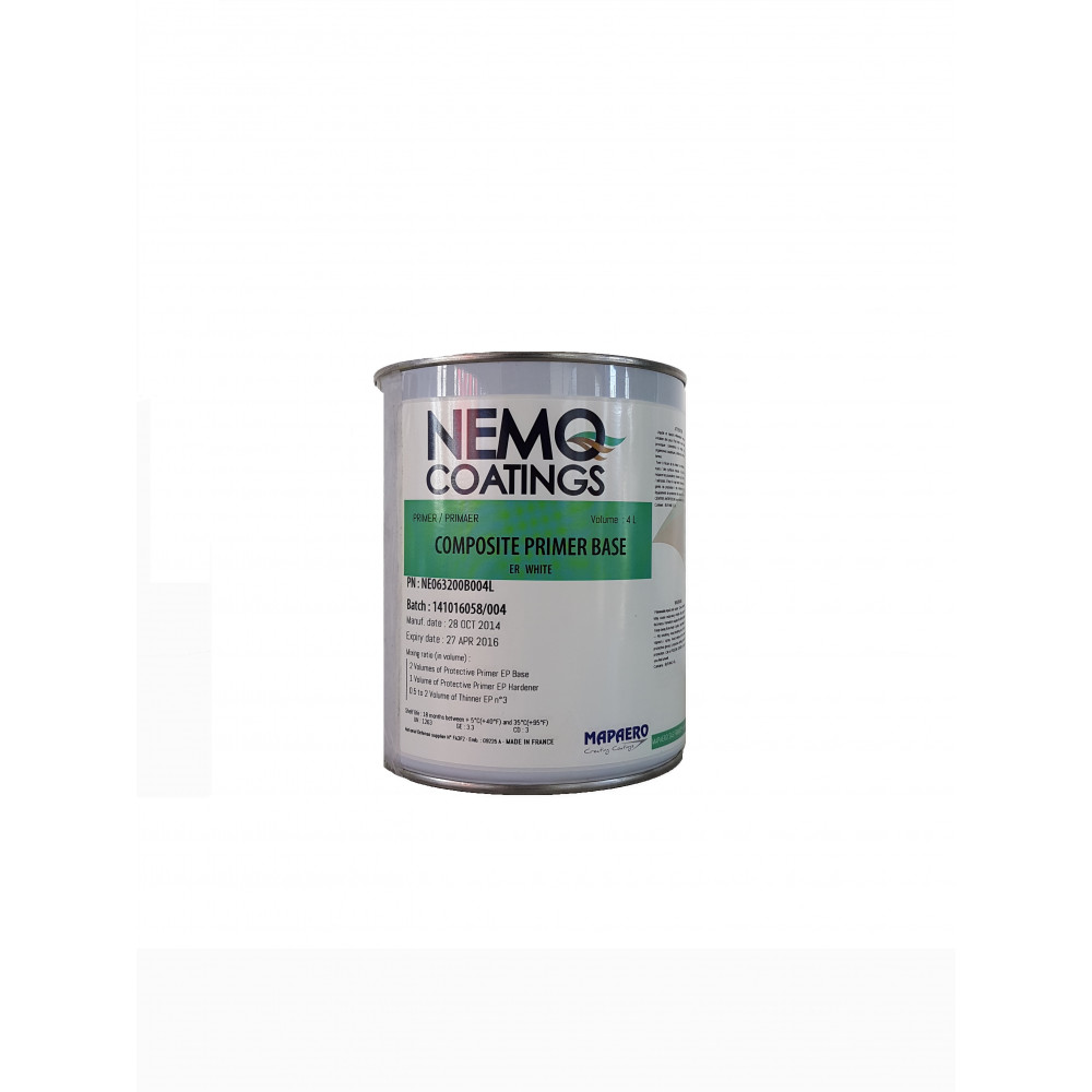 Nemo Coatings COMPOSITE PRIMER, weiß, 4L Basis