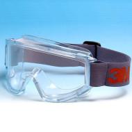 3M 2890S Vollsicht Schutzbrille, AS/AF/UV, Polycarbonatscheibe, breites Band