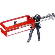 Hand-Kartuschenpistole für 2-Komponentenklebstoffe, für 10:1-Mischungsverhältnis