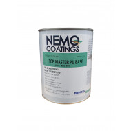 Nemo Coatings TOP MASTER, Farblack, RAL 9001 cremeweiß, Basis 1L