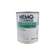 Nemo Coatings TOP MASTER, Farblack, RAL 9003 signalweiß, Basis 1L