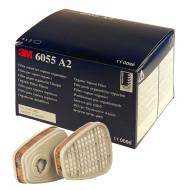 3M 6055, A2 Filter (org. Gase / Dämpfe), für 3M Masken Serie 6000 und 7000