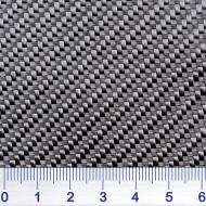 Glasseidengewebe 280 g/m², schwarz, Köper 2/2