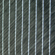 Carbon BiAx 45°/-45°, 300g/m², Breite 126cm, Rolle ca. 63,5m²