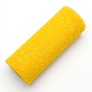 Strukturwalze, grob, 180 mm Breite, Bügel 8 mm, aus Polyesterschaum / gelb