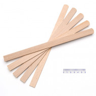 Rührspatel, Holz (Buche) ca. 250x15x3 mm
