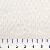 Lochfolie, HD-PE, transparent, heißgenadelt, Breite 115cm