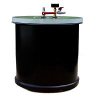 Harzabscheider / Entgasungsbehälter / Exsikkator, ca. 76 Liter Volumen