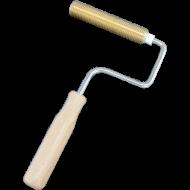 Rillenwalze aus Metall, 120mm,Durchm. 22mm, Entlüftungsroller vertikal 120x22mm