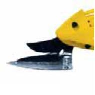 Ersatzmesser EC-Cutter, mit Fuß, verzahnt