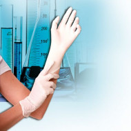 Nitril Einmal-Schutzhandschuhe SAFE LIGHT Größe L