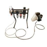 Zahnarzt Frischluft-Atemschutzsystem, Set komplett