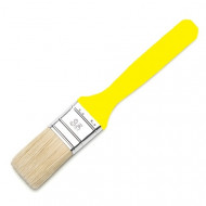 Universalpinsel Industriequalität, 35-40 mm, Weißblechfassung, gelber Kunststoffgriff