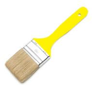 Universalpinsel Industriequalität, 50 mm, Weißblechfassung,  mit gelbem Kunststoffgriff