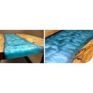 SICOMIN Color-Flakes, 0,02kg, lagunenblau, Glimmerpigmente mit hoher Reinheit