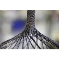 Carbon Flechtschlauch, 12K Carbon-Faser, 232mm Durchmesser