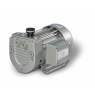 "BECKER Vakuumpumpe VT4.4, 230V, Anschluss Saugseite G1/4"", komplett montiert mit Anschlusskabel, Schalter / Stecker"