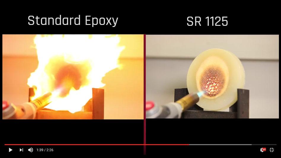 Feuerhemmendes & selbstverlöschendes Epoxy Infusionsharz SR1125 mit ...