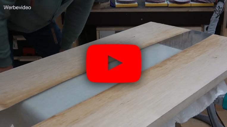 Epoxidharz Tutorial: Rivertable selber bauen!