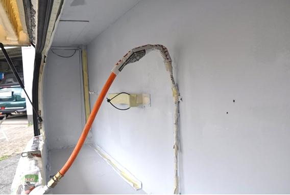 Wohnwagen Gaskasten Reparatur 6